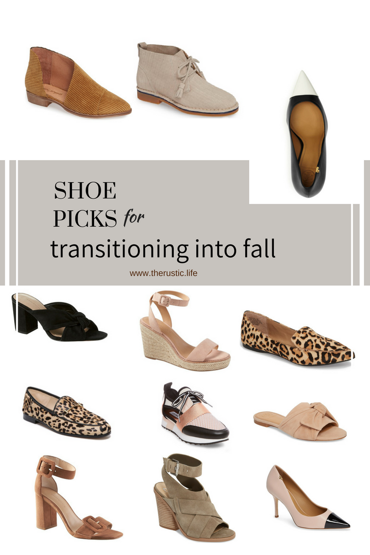 on trend fall shoes for women