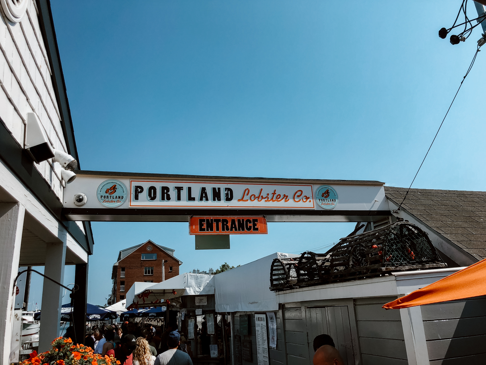 where to get a lobster bake in portland maine